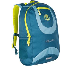 TROLLKIDS Trollhavn Daypack 20l Kids petrol/dolphin blue/lime